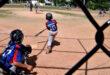 La liga de béisbol infantil Miranda.