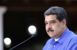 Presidente Nicolás Maduro,con la juventud del Partido Socialista Unido de Venezuela. 22 de junio de 2020.