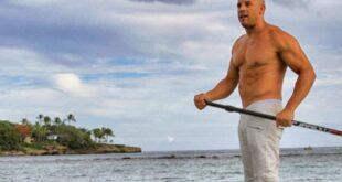 Vin Diesel en casa de campo