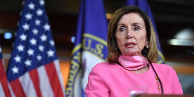 La líder de la mayoría demócrata en la Cámara de Representantes, Nancy Pelosi.