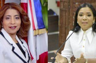 Dolores Fernández y Anibelca Rosario