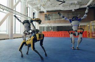 Los robots demuestran que también son capaces de bailar con estilo.