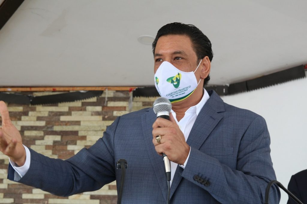 Lic. Dilcio Gabin Santana presidente de Coop San Franisco