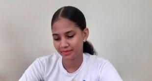 Altagracia Payano de Isfodosu participó en un campeonato universitario este año. (FUENTE EXTERNA)
