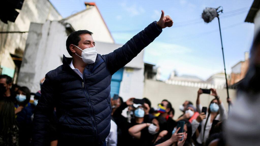Andrés Arauz candidato de izquierda a la Presidencia de Ecuador